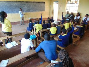 The Water Project:  Active Student Participation At Training