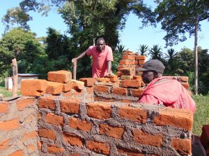 The Water Project:  Latrines Underway