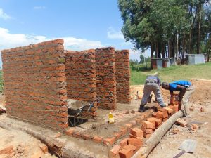 The Water Project:  Walls Going Up Brick By Brick