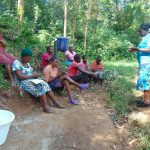 The Water Project: Bumira Community, Imbwaga Spring -  Training Begins With Facilitator Karen Maruti