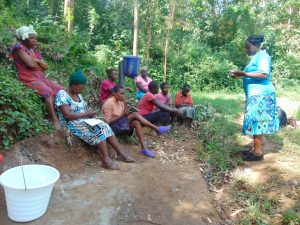 The Water Project:  Training Begins With Facilitator Karen Maruti