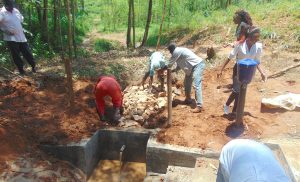The Water Project:  Stone Backfilling