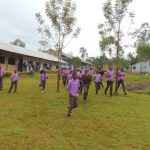 The Water Project: Friends Musiri Secondary School -  Students Run To The Toilet