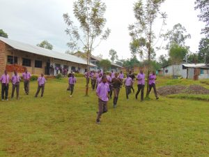 The Water Project:  Students Run To The Toilet