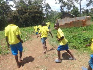 The Water Project:  The Gents Running To The Latrines