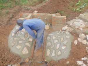 The Water Project:  Cementing The Rub Walls