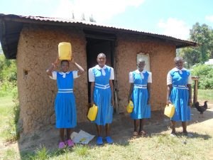 The Water Project:  Students Deliver Water To The Kitchen