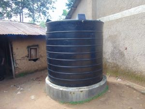 The Water Project:  Small Plastic Rain Tank