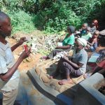 The Water Project: Kisasi Community, Edward Sabwa Spring -  Trainer Amos Misiko Leads Dental Hygiene Training