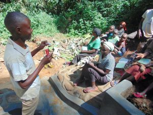 The Water Project:  Trainer Amos Misiko Leads Dental Hygiene Training