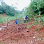 The Water Project: Shikhombero Community, Atondola Spring -  Fencing