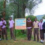 The Water Project: Friends Musiri Secondary School -  Students And Staff At School Entrance