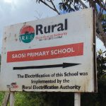 The Water Project: Saosi Primary School -  School Signpost