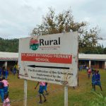 The Water Project: St. Joaim Buyangu Primary School -  School Signpost