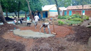The Water Project:  Forming Concrete Foundation