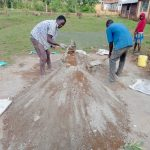 The Water Project: Mulwanda Mixed Primary School -  Mixing Cement