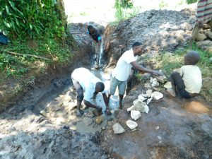The Water Project:  Laying Stones For The Foundation