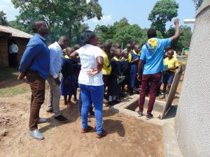 The Water Project:  Students Learn About The Rain Tank