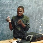 The Water Project: Banja Secondary School -  Trainer Samuel In Action At Training