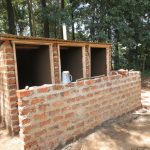 The Water Project: St. Joseph's Lusumu Primary School -  Framed Latrines