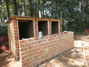 The Water Project:  Framed Latrines