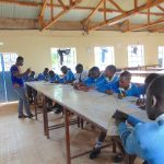 The Water Project: Kamimei Secondary School -  Students Take Notes At Training