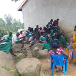 The Water Project: Mwichina Primary School -  Students Taking Notes