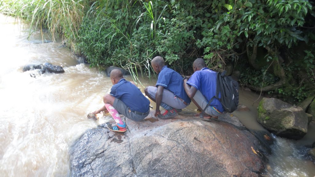 The Water Project : 22-kenya20151-students-fetching-water-2