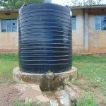 The Water Project: St. Joaim Buyangu Primary School -  Small Plastic Rain Tank