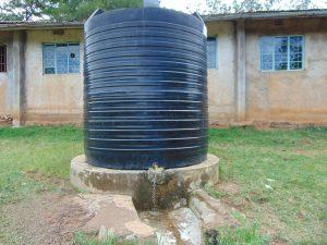 The Water Project:  Small Plastic Rain Tank