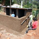The Water Project: Ebukhuliti Primary School -  Latrine Construction