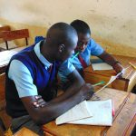 The Water Project: Banja Secondary School -  Students Work Together
