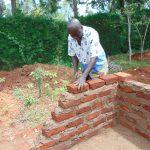 The Water Project: Kerongo Secondary School -  Brickwork