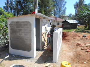 The Water Project:  Latrines Receive Coat Of Paint