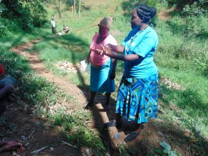 The Water Project:  Karen Demonstrates Handwashing