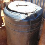 The Water Project: Kitagwa Secondary School -  Water Storage Drum