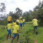 The Water Project: Isikhi Primary School -  Returning To School With Water