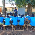 The Water Project: St. Joseph's Lusumu Primary School -  Training Begins