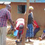 The Water Project: Kimarani Community, Kipsiro Spring -  Handwashing Practice