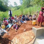 The Water Project: Shikhombero Community, Atondola Spring -  Trainer Laodia On Site Management