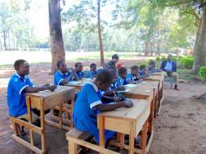 The Water Project:  Pupils Taking Notes