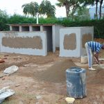 The Water Project: Kerongo Secondary School -  Latrines Under Construction