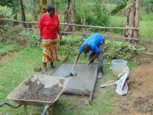 The Water Project:  Finishing Touches To Slab