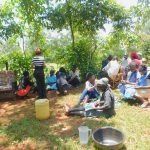 The Water Project: Shikhombero Community, Atondola Spring -  Group Discusssion Activity