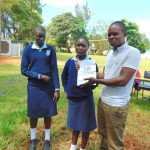 The Water Project: Kerongo Secondary School -  Students With Facilitator Samuel Simidi At Training