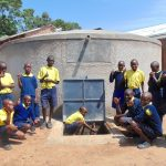 The Water Project: Kosiage Primary School -  Students Give Thumbs Up For Clean Water