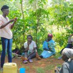 The Water Project: Shikhombero Community, Atondola Spring -  Trainer Elvin On Dental Hygiene