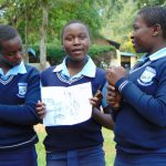 The Water Project: Kerongo Secondary School -  Students At Training