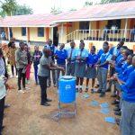 The Water Project: Banja Secondary School -  Handwashing Practical
