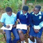 The Water Project: Kerongo Secondary School -  Students Work Together At Training
